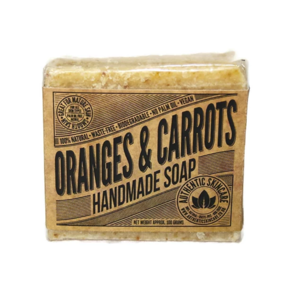 Carrot and Orange Soap