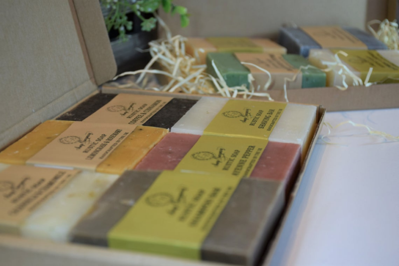 Rustic Soap Collection